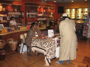 Booksigning at Nubian Store-Harlem