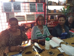 Seasoned Sistahs at Marcus Books 2014