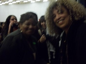 Women of Color Conference UC Berk. 2011 Angela Davis & Vicki Ward